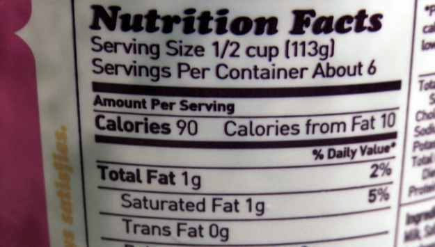 Diabetes and Diet: Learn the Labels