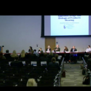 FDA Testimony