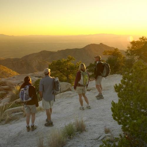 Canyon Ranch Tuscon Hiking the Hills